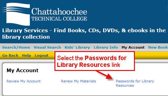 Passwords Link