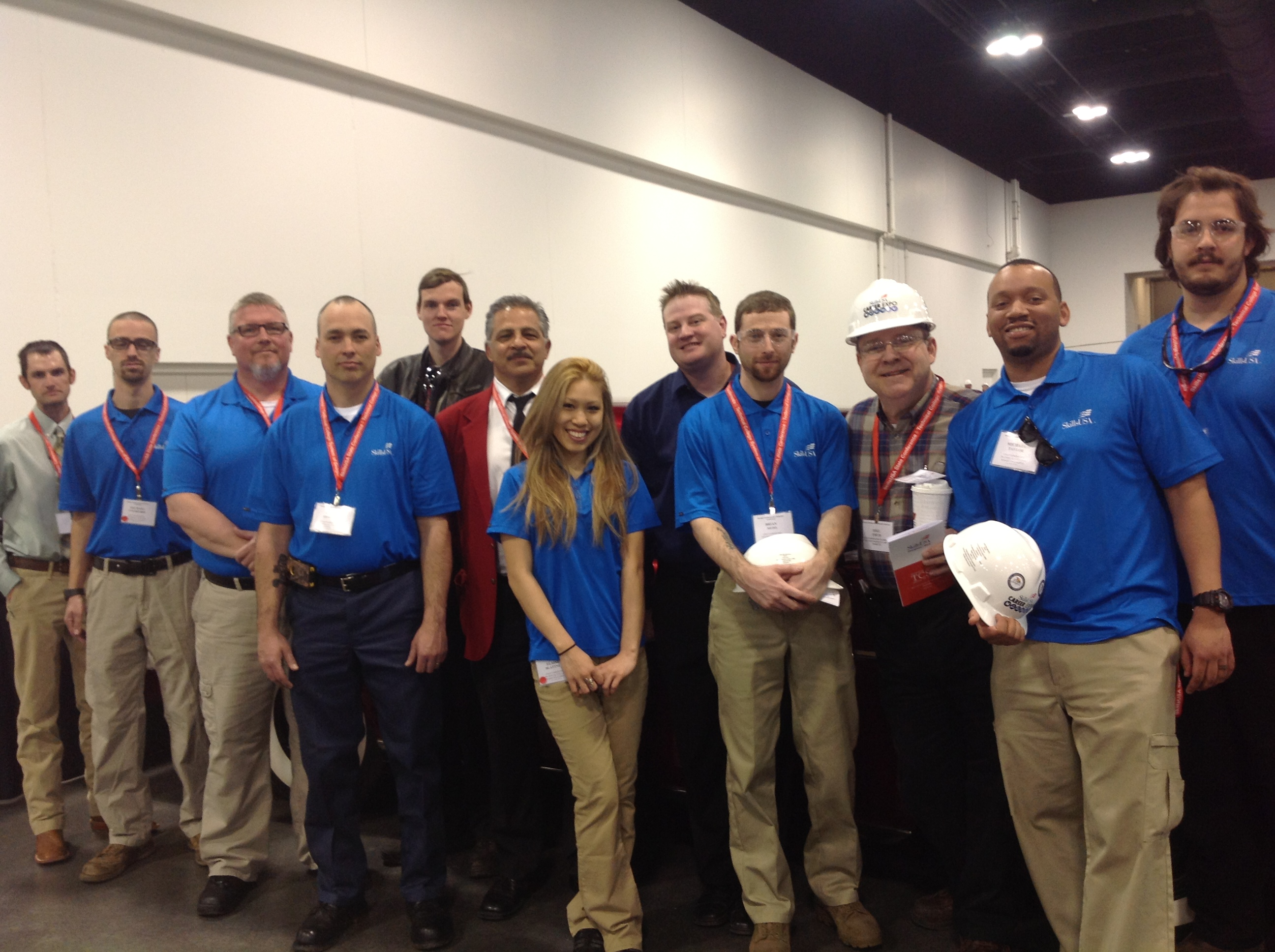 SkillsUSA 2013 Group shot