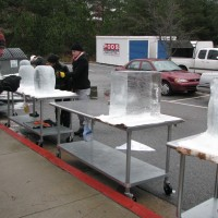 Chattahoochee Tech Students Place in Local Ice Carving Contest