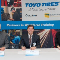 Quick Start and Chattahoochee Technical College Sign Workforce Training Agreement with Toyo