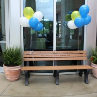 Chattahoochee Tech Nursing Graduates Honor Classmate with Bench
