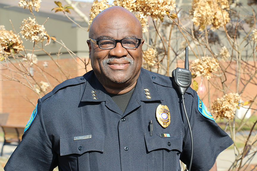Alfredrick Campbell has been named Chattahoochee Tech's deputy chief of police.