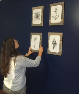 Interiors Students Design Nautical Themed Nursery For Soon To Be Mother Of Two