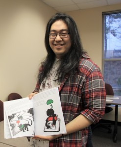 "Soon Han of Marietta illustrated the children's book ""Seeking Scruffy."""