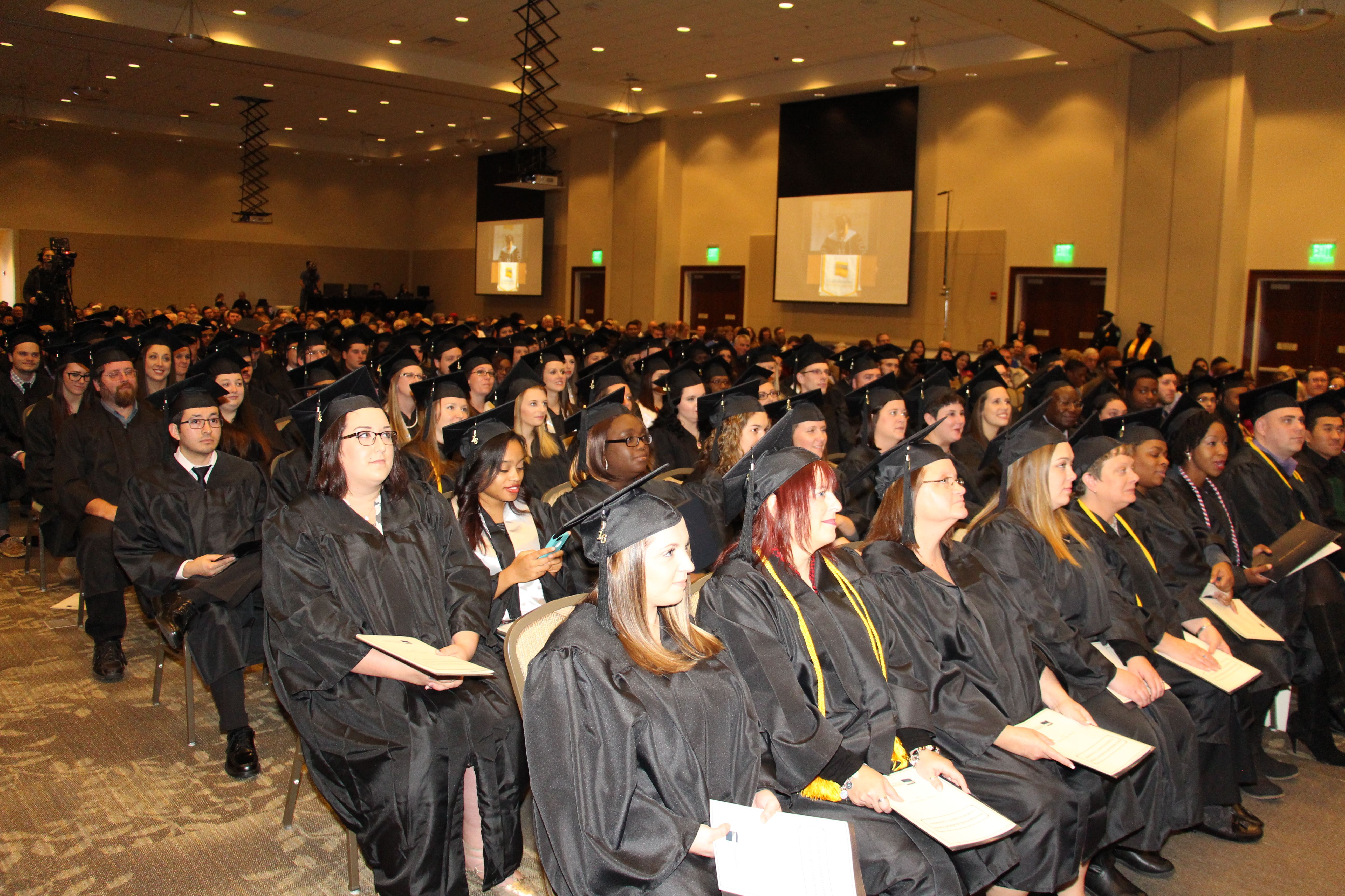 CTC Instructor Delivers Empowering Commencement Speech