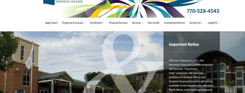 Chattahoochee Technical College Launches Redesigned Website
