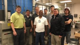 Furnace Donation Provides Students with Hands-on Learning Experience