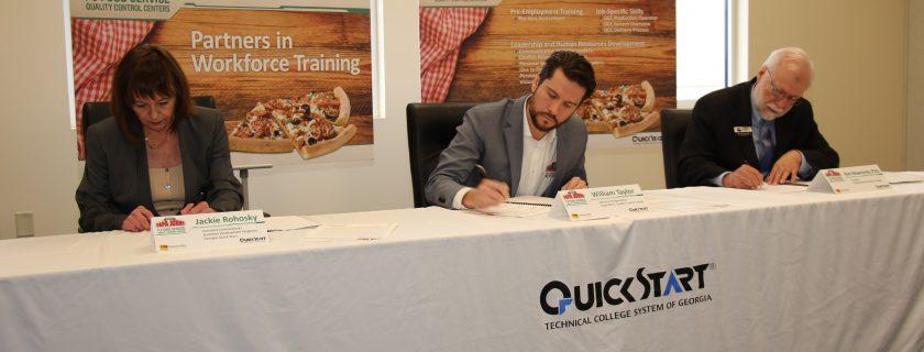 Quick Start, Papa John's and CTC Announce Training Initiative