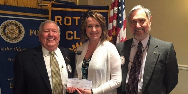 Rotary Club of East Cobb Gifts $1,000 to Chattahoochee Tech Foundation