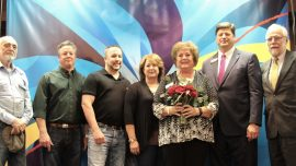 Trustee Honored for Service, Commitment to Foundation