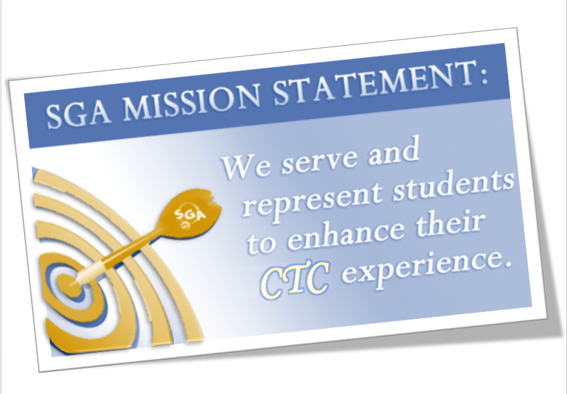 Student Government Association mission statement picture