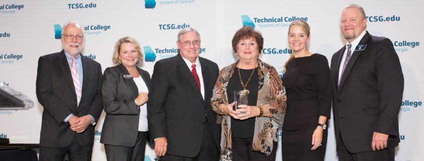 Volunteer of the Year Award Winner with CTC and TCSG officials