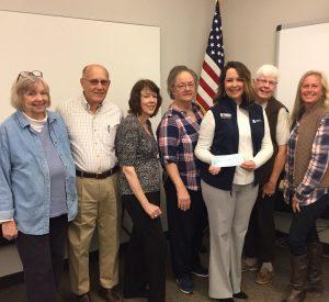 Cherokee Country Master Gardeners present donation to Chattahoochee Tech Horticulture Program.
