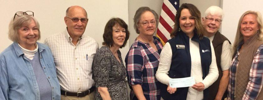 Cherokee County Master Gardeners Present Donation to Chattahoochee Tech Horticulture Program.
