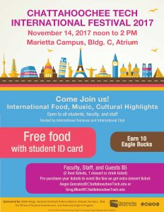 International Festival flyer 2017