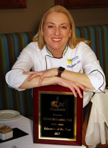 Chattahoochee Tech Culinary Instructor Named 2017 Chef Educator of the Year