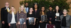 Group photo of 2018 award winners.
