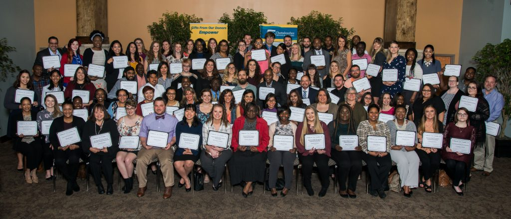 Chattahoochee Tech Foundation scholarship award recipients