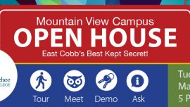 Chattahoochee Tech to Host Open House at Mountain View Campus in East Cobb County