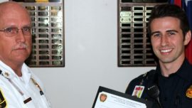 Cherokee County Firefighter Commended for Completing Chattahoochee Tech Degree
