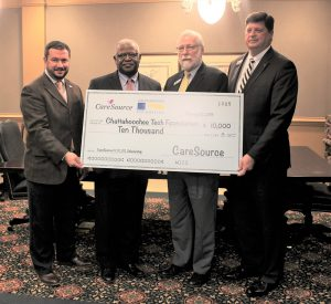 CareSource presents donation to Chattahoochee Tech