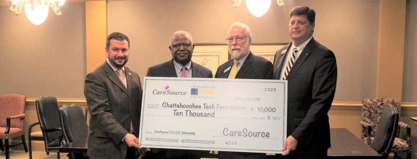 Chattahoochee Tech Receives $10,000 Donation from CareSource to Create Scholarships