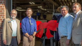 Chattahoochee Tech Welding Lab Celebrated at Pickens Chamber of Commerce Event