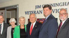 Chattahoochee Tech Dedicates Jim Cunningham Veteran Services Center at Marietta Campus