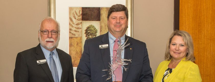 Chattahoochee Tech Foundation Board of Trustees Chair Don Barbour Commended