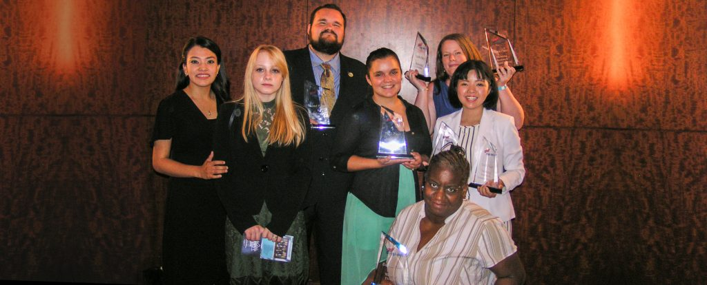 Chattahoochee Technical College students competed at the national Phi Beta Lambda competition held in Baltimore.