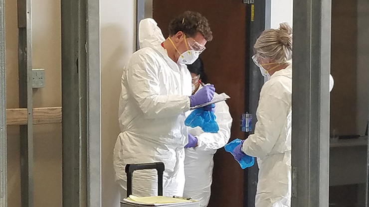 CSI Team at Skills USA male and female
