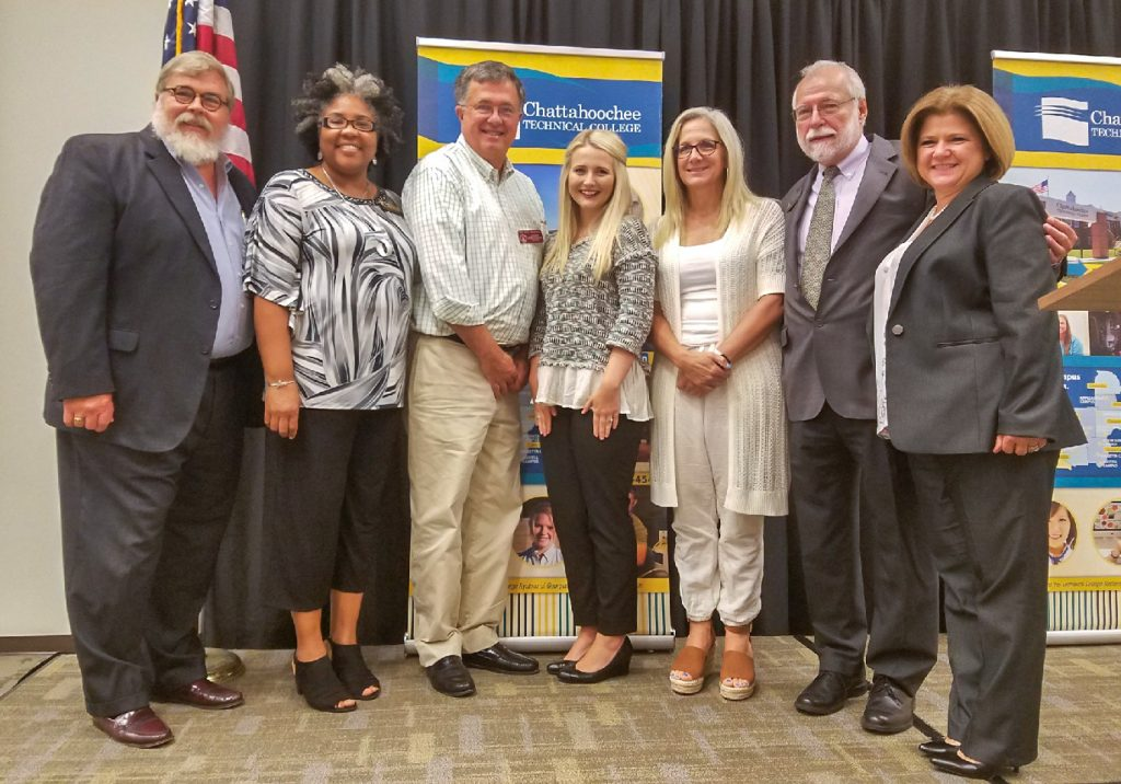 Chattahoochee Tech sponsored the Pickens Chamber Breakfast at the Appalachian Campus and featured speakers from the college.