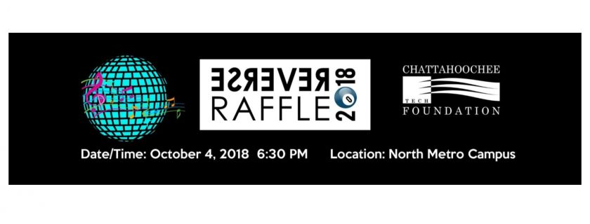 Tickets are on sale for the 2018 Reverse Raffle slated for Oct. 4 at the North Metro Campus.