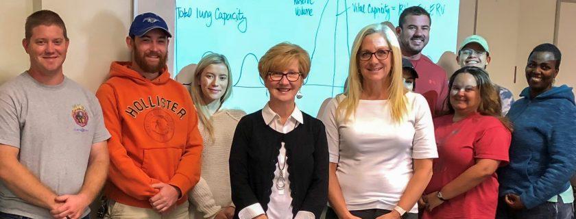 Board of Directors Member Denise Ray Visits Classroom at Appalachian Campus