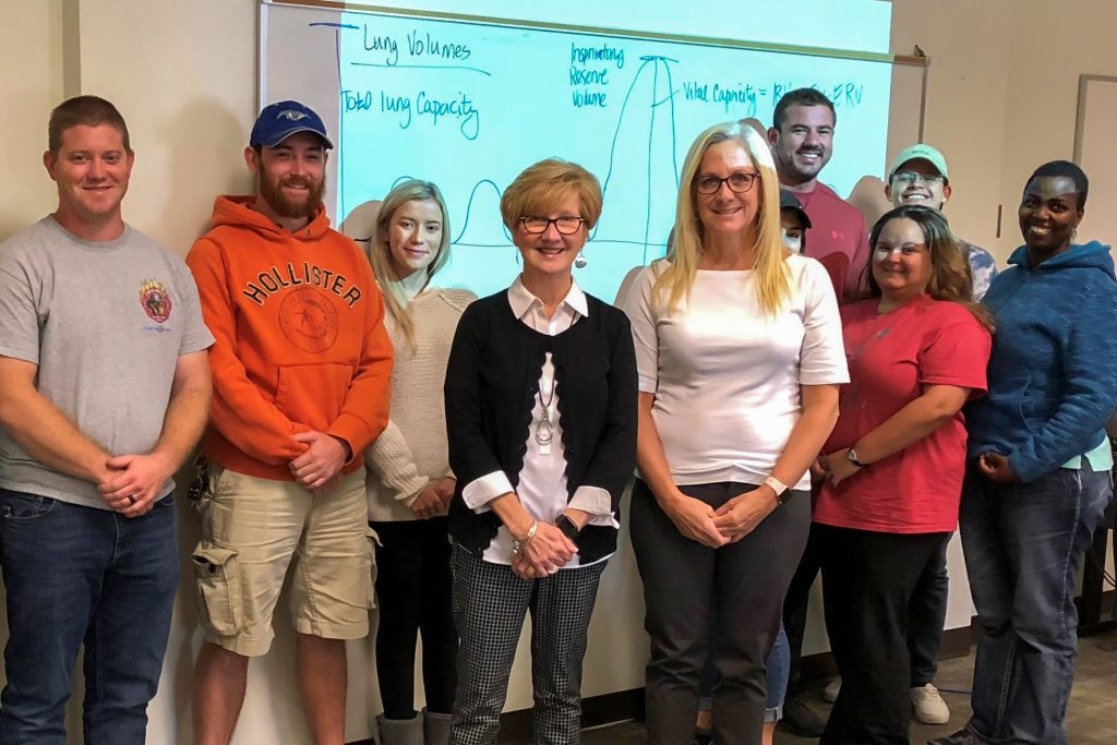 Board Member Denise Ray visited the Appalachian Campus.