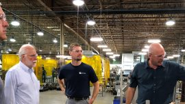 Chattahoochee Tech Officials Visit Royston, LLC