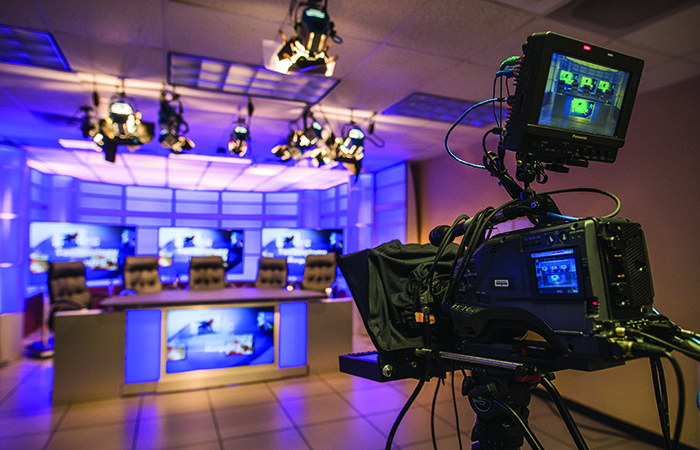 Television Production Technology lab at CTC