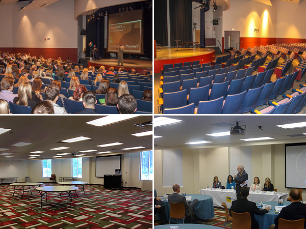 Four pictures of Paulding campus