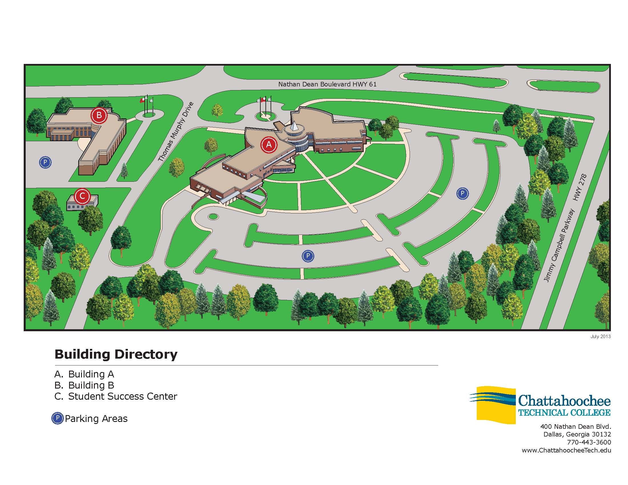chattahoochee tech marietta campus map Ctc Paulding3d Chattahoochee Technical College chattahoochee tech marietta campus map