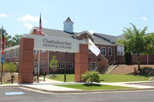 Woodstock Campus front photo.