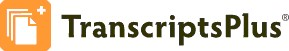 Transcripts Plus logo
