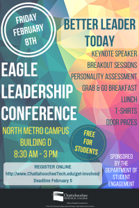 Image of Eagle Leadership Conference Poster