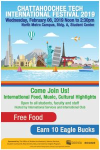 International Festival - North Metro Campus @ Chattahoochee Technical College - North Metro Campus