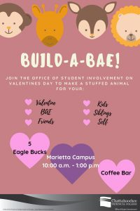 Poster image for Build A Bae at Marietta Campus