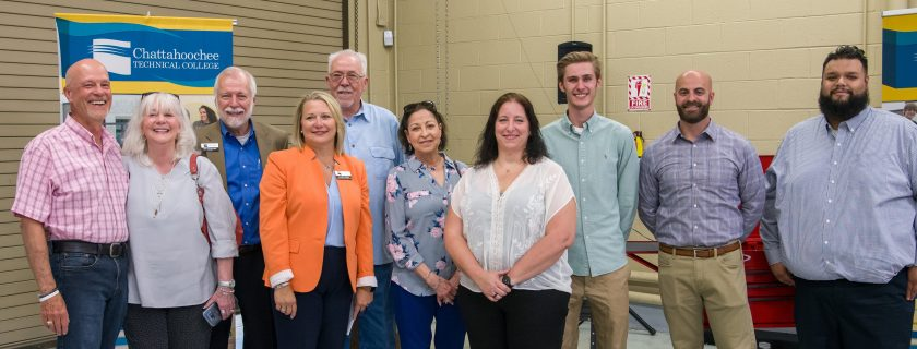 Tool Sets Presented to Chattahoochee Tech Students at 2019 Mike Peterson Memorial Awards Ceremony