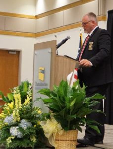 Pickens County Sheriff Donnie Craig delivered the keynote address at the 2019 GED and ESL Recognition Ceremony.