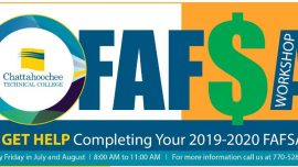 CTC Student Financial Services Offering Friday FASFA Workshops at Marietta Campus