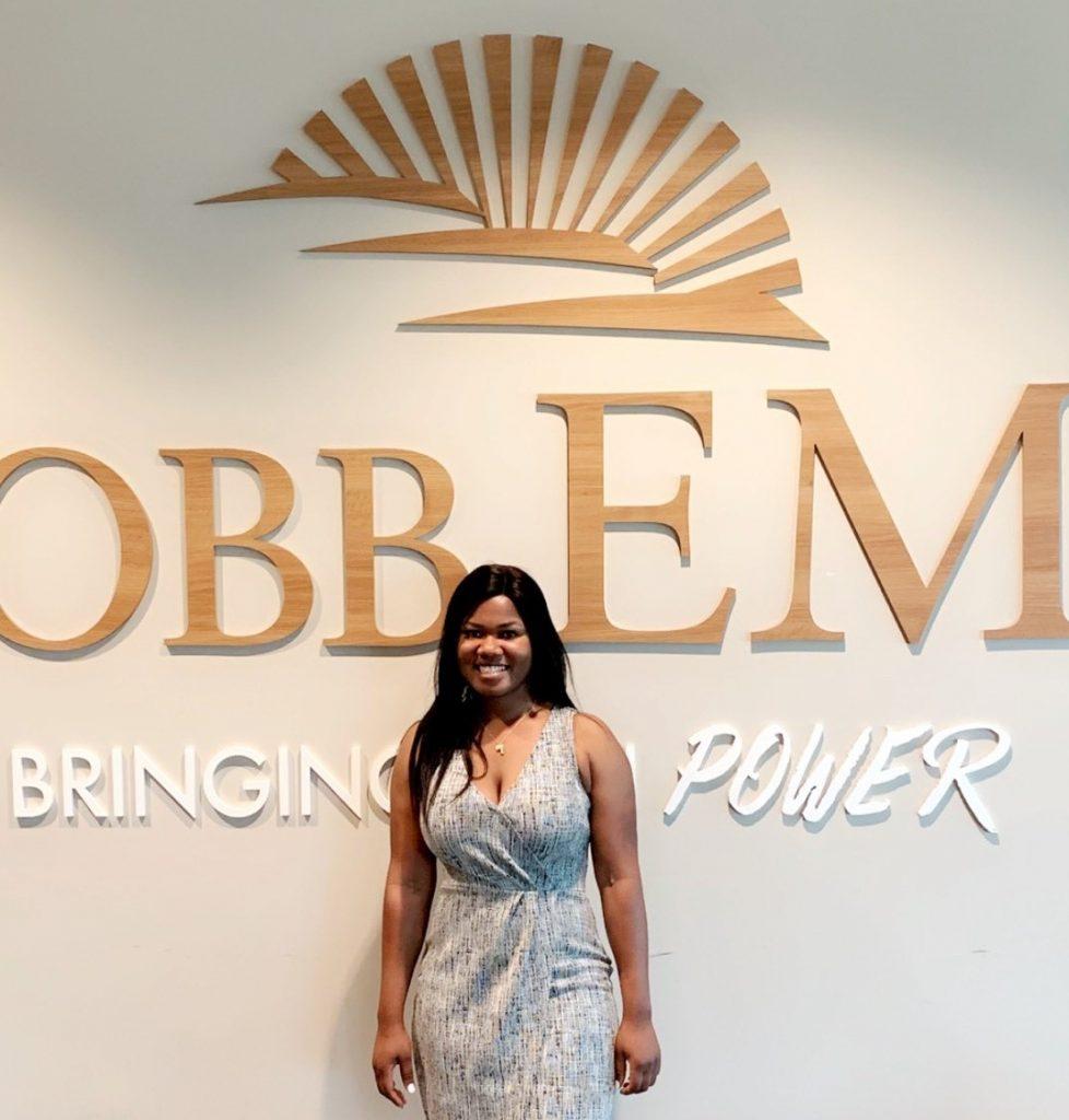 Cobb EMC Community Foundation Scholarship Recipient Lydia Kumi