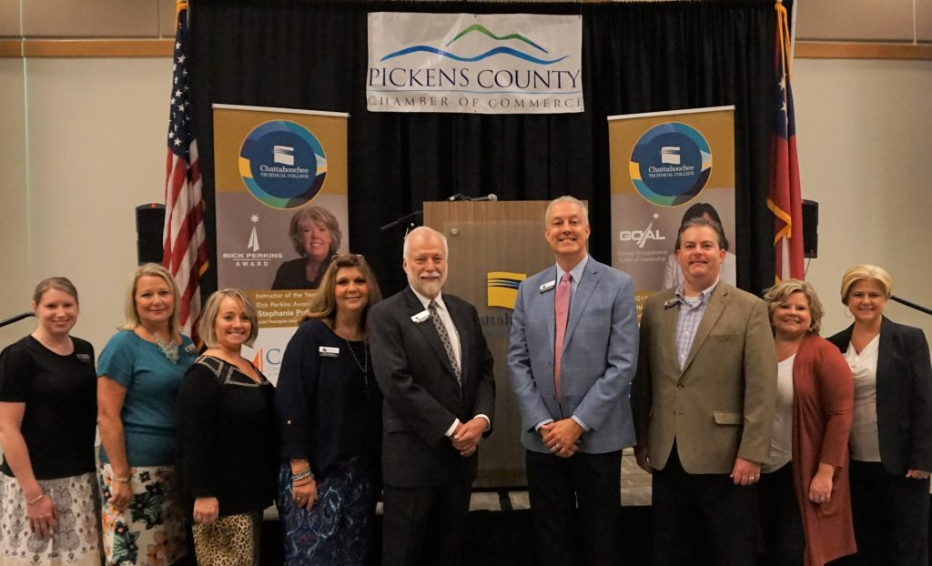 Chattahoochee Technical College sponsored the August 2019 Chamber Breakfast for the Pickens County Chamber of Commerce at the college's Appalachian Campus in Jasper