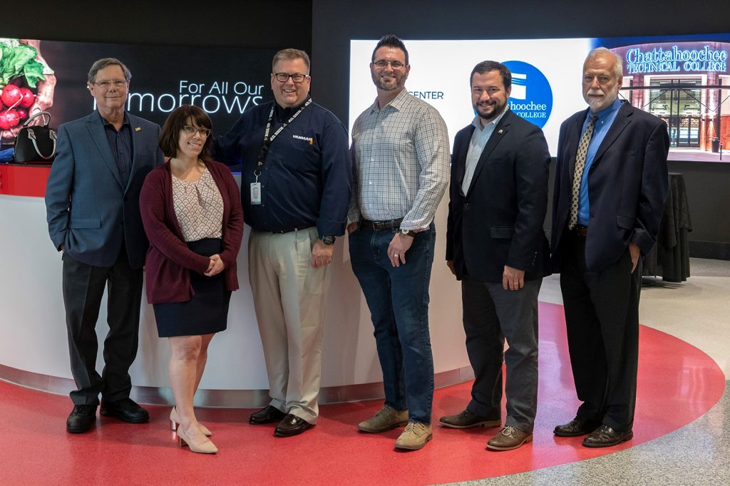 The Chattahoochee Tech Foundation welcomed four new Board members at its quarterly meeting held at the Yanmar Evo Center on Aug. 8.